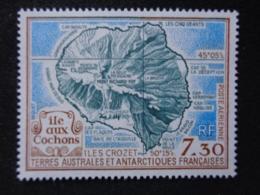 T.A.A.F. P.A. 1990 Y&T N° 110 ** - L'ILE AUX COCHONS - Poste Aérienne