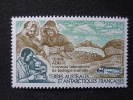 T.A.A.F. P.A. 1993 Y&T N° 126 ** - TERRE ADELIE  NOUVEAUX LABORATOIRES DE BIOLOGIE ANIMALE - Poste Aérienne