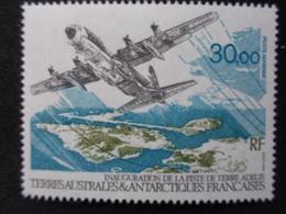 T.A.A.F. P.A. 1993 Y&T N° 128 ** - INAUGURATION DE LA PISTE DE TERRE ADELIE - Poste Aérienne