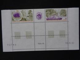 T.A.A.F. 1991 P.A. Y&T N° 117 A COIN DATE - ETUDE DES CLIMATS - Poste Aérienne