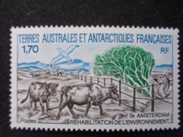 T.A.A.F. 1990 Y&T N° 149 ** - REHABILITATION DE L'ENVIRONNEMENT A L'ILE AMSTERDAM - Terres Australes Et Antarctiques Françaises (TAAF)