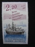 T.A.A.F. 1993 Y&T N° 174  ** - ANNIV. DU MARION DUFRESNE - Terres Australes Et Antarctiques Françaises (TAAF)