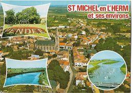 SAINT MICHEL EN L'HERM Et Ses Environs - Vues - Saint Michel En L'Herm