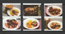 Portugal - 1997 - Lot De 6 Timbres Cozinha Tradicional Portuguesa - Neuf/MNH/** - Ungebraucht