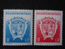 T.A.A.F. 1993 Y&T N° 171 & 172  ** - ARMOIRIES DU TERRITOIRE - Terres Australes Et Antarctiques Françaises (TAAF)