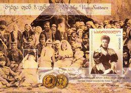 Georgia 2020 Writer Bertha Von Suttner - First Woman Awarded The Nobel Peace Prize SS MNH - Georgia