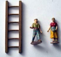 Figurines Anciennes - Animaux De La Ferme (vaches, Volailles, Mouton, Cochon) Et Fermiers - Andere