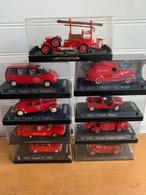 Lot De 17 Miniatures De Pompiers - PKW & Vierräder