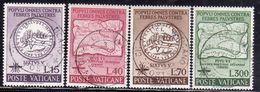 CITTÀ DEL VATICANO VATICAN VATIKAN 1962 LOTTA CONTRO MALARIA FIGHT PALUDISME SERIE COMPLETA COMPLETE SET USATA USED - Vatican