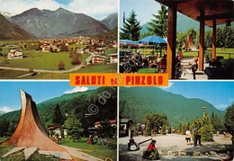 Cartolina Pinzolo Vedute 1978 - Trento