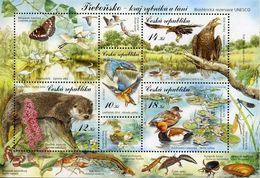 Czechia 2008, Reservation Of Nature, MNH Sheet - Tchéquie
