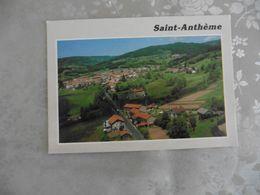 CARTE  POSTALE    DE     ST  ANTHEME       (PUY  DE  DOME  ) - Cartes Postales