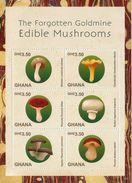 2015 Ghana  Mushrooms Fungi 2 Souvenir Sheet  MNH @80% Of Face Value - Mushrooms