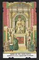 Santino/holycard: MARIA SS. DEL DIVIN PARTO - Chiesa Di S. Agostino, Roma - E-PR - Religione & Esoterismo