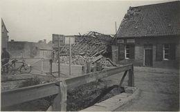 Ruines.   -    1914 - 1918    FOTOKAART! - Knokke