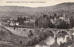 CLERON (Doubs) - Le Pont Du Tacot, Edition CLB. Circulée En 1925. Bon état. - Other Municipalities