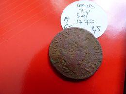 LOUIS XV 1770 - Monnaies