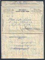 Raro Aerograma Enviado Entre 2 Militares Do SPM 1884, Moçambique 1965. Ribaué. Impresso Orbis. Guerra Colonial. TAP. 2s - Variétés Et Curiosités