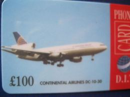 "Télécarte Royaume Unis ""avions"" - Ver. Königreich"