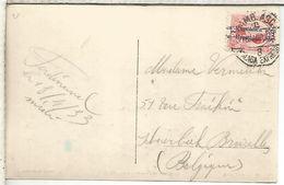 TP MALAGA A BELGICA CON MAT AMBULANTE 8 MALAGA EXPRESO 1933 - 1931-50 Cartas