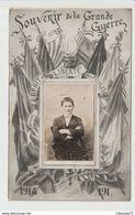 C.P.A  DE SOUVENIR DE LA GRANDE GUERRE  1914 - 191 - Guerra 1914-18