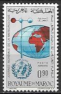 MAROC   -     Aéros.    .1964     Y&T N° 111 *.   Météorologie. - Morocco (1956-...)