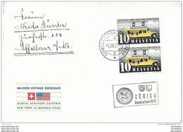 "122 - 14 - Enveloppe Avec Oblit Spéciale ""Bundesfeier 1947 Zürich"" - Marcofilia"