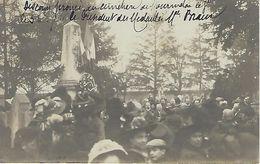 CARTE PHOTO CPA  MOURMELON LE GRAND (MARNE) 51 - Discours Prononcé Le 3 X 1911 - Camp De Châlons - Mourmelon