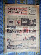 COEURS VAILLANTS 20/12/ 1936 N° 51 LE RAYON DU MYSTERE TINTIN ET MILOU EN EXTREME ORIENT - Tintin