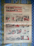 COEURS VAILLANTS 27/12/ 1936 N° 52 LE RAYON DU MYSTERE TINTIN ET MILOU EN EXTREME ORIENT JIM BOUM AU FAR WEST - Tintin