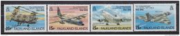 Falkland Islands 1993 M. 594-597 BF 11  75th Anniversary Of The Royal Air Force - Verzamelingen (zonder Album)