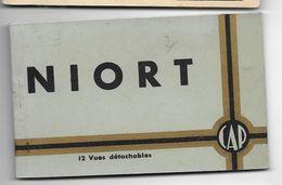 Carnet De 12 CP  NIORT Ed CAP - Niort
