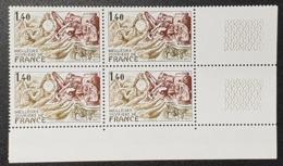 N° 1952 Neuf ** Gomme D'Origine, Bloc De 4  TTB - Unused Stamps