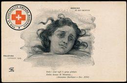 PALERMO - MESSINA - PER LE GIOVANETTE ORFANE MESSINESI - 1908\9 - Messina