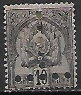 TUNISIE   -    TAXE   -   1888.  Y&T N° 12 (*) - Tunesien (1888-1955)