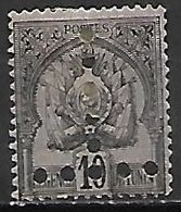 TUNISIE   -    TAXE   -   1888.  Y&T N° 12 (*) - Tunisia (1888-1955)