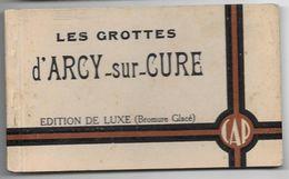 Carnet De 10CP  Les Grottes D'ARCY-SUR-CURE A.Joublin Editeur - Sonstige Gemeinden
