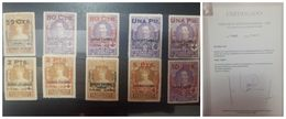 O) 1927 SPAIN, SPANISH COLONIES - RED CROSS ISSUE, SURCHARGED OVERPRINT IN VARIOUS COLORS KING ALFONSO XIII, QUEEN VICTO - Variedades & Curiosidades