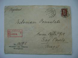 ESTONIA / EESTI - LETTER SENT FROM TALLINN TO SAO PAULO (BRAZIL) IN 1938 IN THE STATE - Estonie
