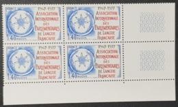 N° 1945 Neuf ** Gomme D'Origine, Bloc De 4  TTB - Unused Stamps