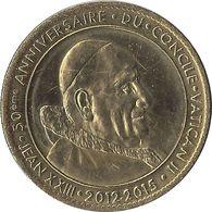 2013 AB112 - LOURDES 6 - Jean XXII & Paul VI (anniversaire Du Concile) / ARTHUS BERTRAND - Arthus Bertrand