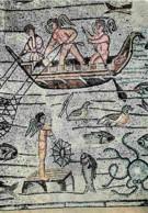 Mosaique Religieuse - Aquileia - Basilique - Mosaique - Scène De Pêche - CPM - Voir Scans Recto-Verso - Tableaux, Vitraux Et Statues