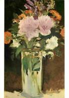 Peinture - Edouard Manet - Bouquet De Fleurs - CPM - Voir Scans Recto-Verso - Peintures & Tableaux