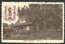 "+++ CPA - RHODE SAINT GENESE - "" Chez Moi ""   // - Rhode-St-Genèse - St-Genesius-Rode"