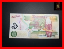 ZAMBIA 1.000  1000 Kwacha  2006  P. 44 E  Polymer   UNC - Zambie