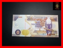 ZAMBIA 5.000  5000 Kwacha  2005  P. 45 B  UNC - Zambie