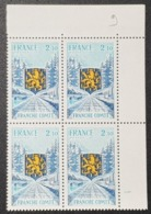 N° 1916 Neuf ** Gomme D'Origine, Bloc De 4  TTB - Nuovi