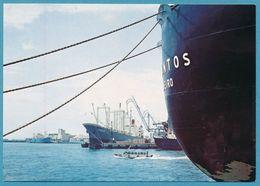 NAGOYA - Seaport (artificial Port).. Harbour Hafen - Nagoya