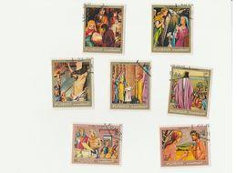 Fujeira - Lot De 7 Timbres - Christianisme - Année 1970 - Mi FU 434 A - 433 A - 437 A - 435 A - 436 A - 432 A - 431 A - Cristianesimo