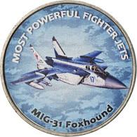 Monnaie, Zimbabwe, Shilling, 2019, Fighter Jet - Foxhound, SPL, Nickel Plated - Zimbabwe